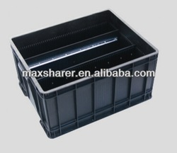 esd plastic container for electronic component