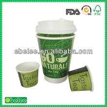 food grade disposable hot tea paper cup