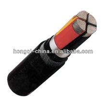 0.6/1kV Aluminum/Copper Conductor 4 Core XLPE Power Cable