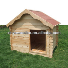 Large Wooden A Frame Asphalt Shingle Roof Dog Kennel
