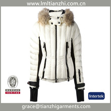 New design winter waterproof ski & snow wear for women down coat