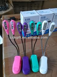 USB clip flexible snake led reading lamp light