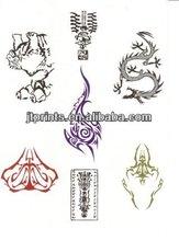 Nouveau papillon autocollant ange de conception de tatouage
