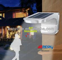 Solar Infrared Led Solar Powered Security Light Bar With Motion Sensor