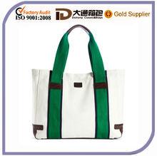 Hot Sell Stripe Canvas Beach Bag 2014
