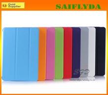 2014 Colorful PU Leather Case for iPad Mini for Smart Case for iPad Mini 2