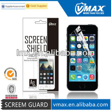Apple iphone 5s screen protector oem/odm(Anti-Fingerprint)