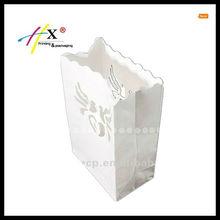 Custom made paper bags flame retardant