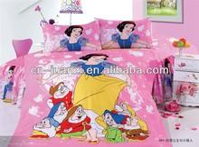 cartoon childrens beddings set flat sheet quilt cover and pillowcase