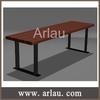 Arlau FW297 wooden garden furniture outdoor long wooden bench seating