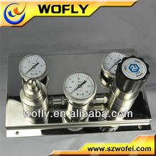 Stainless steel Medium pressure oxygen pressure regulator