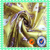 satin fabric type textile with spandex Polyester Digital Printing Twist Satin Dress Fabric Textile