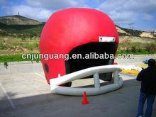 advertising inflatable helmet