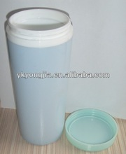 400ml double wall plastic beer mug /plastic mug/thermal cup