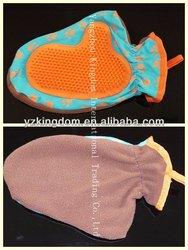 pet bathing gloves