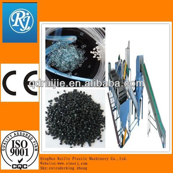 Reciclar grânulos de plástico que faz a máquina preço/padrão do ce de reciclagem de plástico granulador máquina