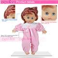 Defa pvc tamanho deifferent baby produtos 11.5 polegadas bonecos de venda quente da boneca do brinquedo