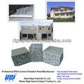 insullation ruido de aislamiento termo fácilmente instalar peso ligero baratos paredes de partición para el uso del edificio