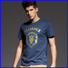 Very cheap mens chinese traditional printing design and short sleeve men's printed t shirt