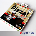 Pizza scatola quadrata, scatole per pizza ondulato ingrosso cartoni pizza
