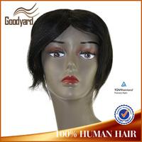 Wholesale indian remy hair toupee, hair pieces, Men's Toupee