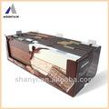 montaña de chocolate única publicidad impresa caja de exhibición