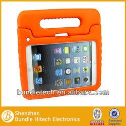 Eva case for ipad mini for kids shockproof EVA foam case with comfotable handle