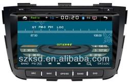 Kia Soranto touch screen double din car stereo with dvd,usb,sd,bluetooth,radio,tv,av,ipod