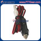 High quality Power Cord 2-Pin 2-Wire Cig Lighter Plug , 140312-08