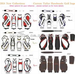 wholesale new design top quality travel tour handmade custom tailor golf club travel bags