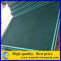 5 foot plastic coated chain link mesh