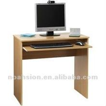 simple wood computer desk