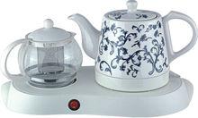 Tea Tray Ceramic and Glass Kettle Set Electric Tea Kettle