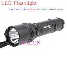 Manta Ray M5 Cree XM-L2 5-Mode streamlight 1000 lumen led flashlight