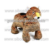 GM59 Golden supplier!! Tiger Walking Animal battery animal kiddy Rides