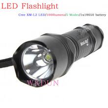 Made in china Manta Ray M5 Cree XM-L2 5-Mode 1000 lumen cree led flashlight