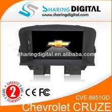 CVE-8851GD 7 inch touch screenauto radio gps car dvd for chevrolet cruze