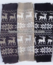 acrylic knitted girls' fashion legwarmer and free sample