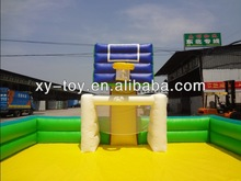 good quality inflatable basketball sport game,inflatable basketball ground