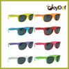 UV400 Protection Nenon Colorized Sun glasses Eyeglasses Wayfarer Style Wholesale