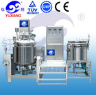 vacuum equipment used for emulsion and blendering cream