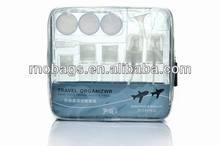 Airline approved travel bottles set