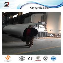 Movable Storage Tank Compact Designed Pressure Vessel Cryogenic Intermodal Vessel of Oxygen