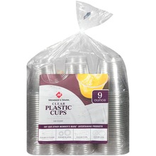 Member's Mark Clear Plastic Cups - 9oz/198ct