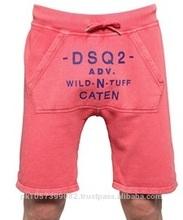 fashion shorts - Christmas soft fleece wholesale cheap fashion mens pyjama shorts/thermal pajamas sets for adult