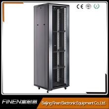 High Quality glass door server cabinets network rack