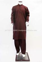 Shalwar Kameez Suits,High quality fashion mens shalwar kameez - Men's Shalwar Kameez Suit with Embroidery