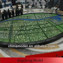 large size master planning model/architectural model making