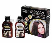 Hair Color Shampoo 2 Brown Black (Code: SD-Y328)