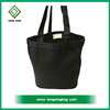 Daily Carry All Cotton Canvas Tote Bag Black
